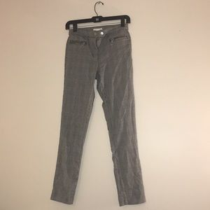Black and white plaid H&M pants